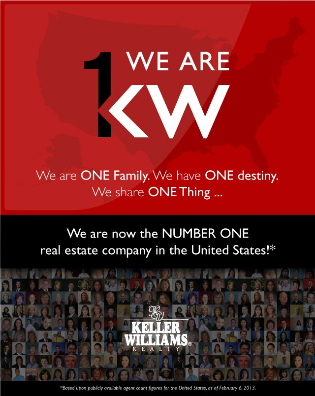 Keller Williams Realty International is named the Number One Real ...